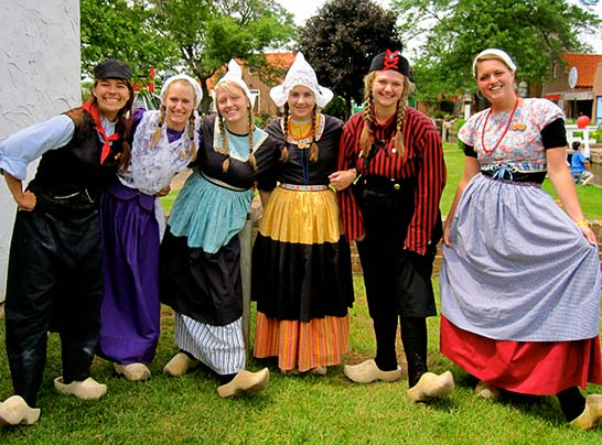 Take a Picture of our famous Dutch Dancers Holland MI