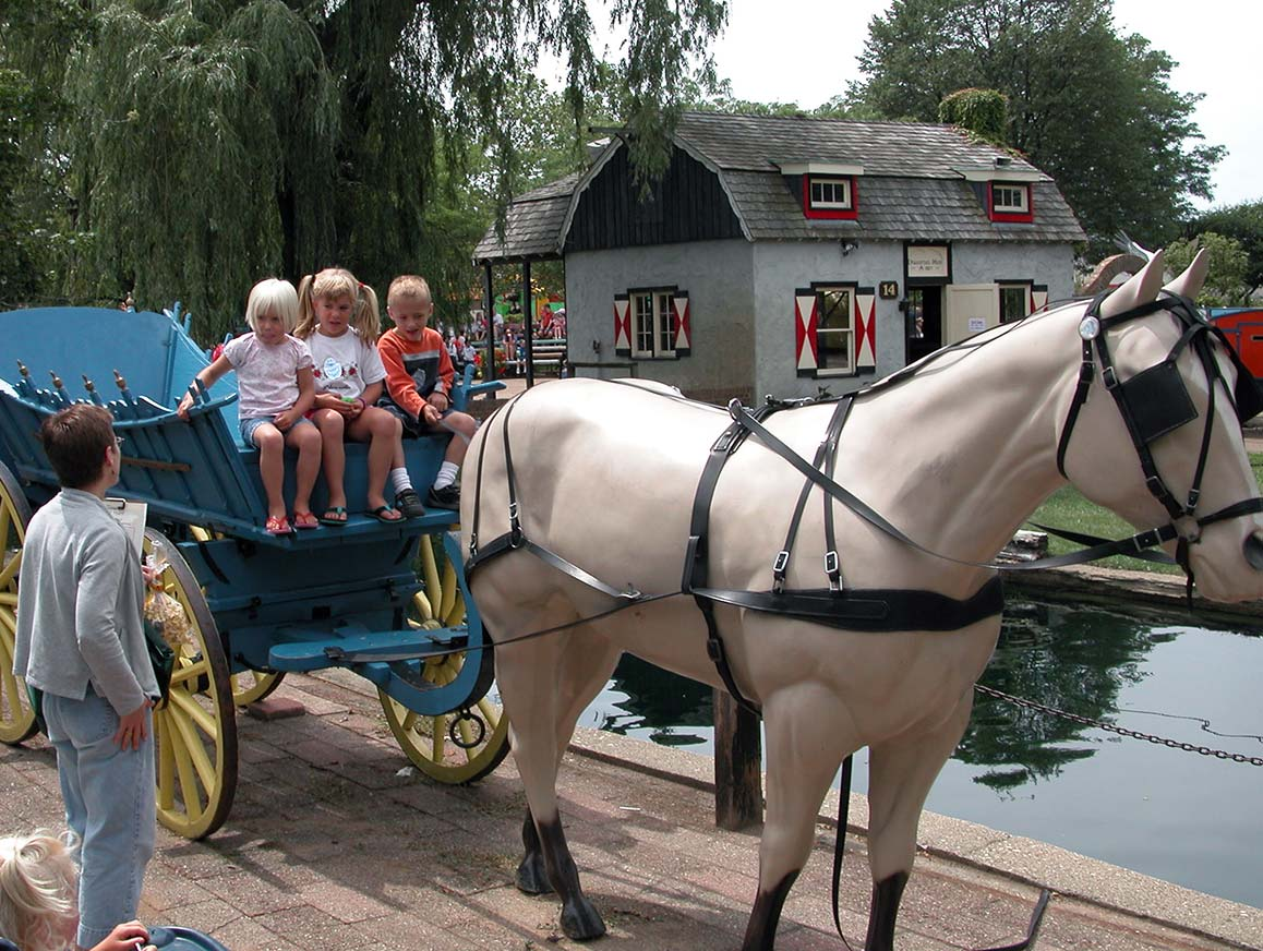 Dutch Village Holland MI Horse Buggy