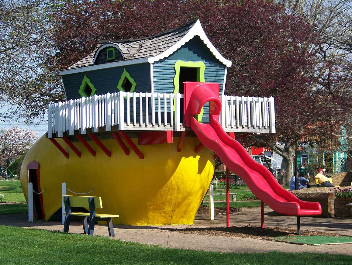 Dutch Village Holland Michigan Old Shoe Slide
