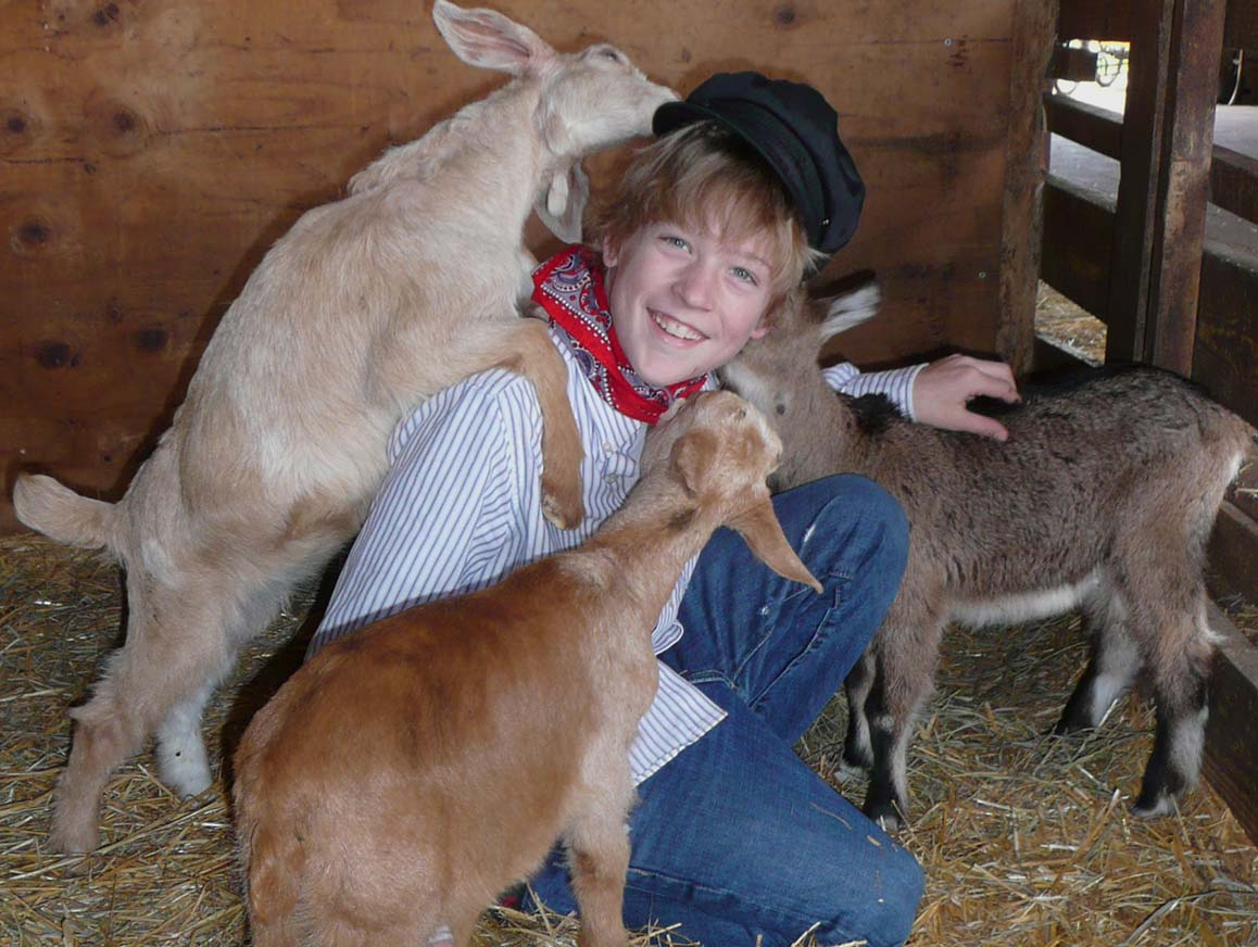 Petting zoo in Holland Michigan