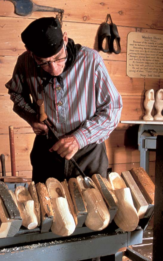 Dutch Village We Make Our Own Wooden Shoes for You
