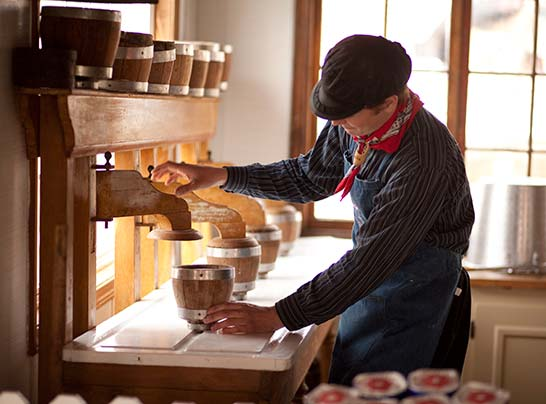 Holland Michigan Dutch Cheesemaking