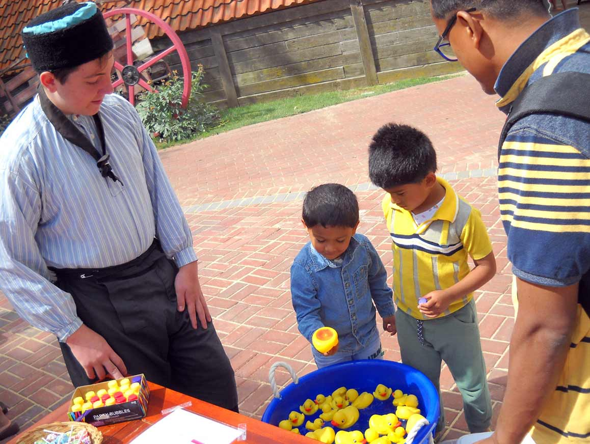 Kid's Day is one of mot popular special days at Nelis Dutch Village