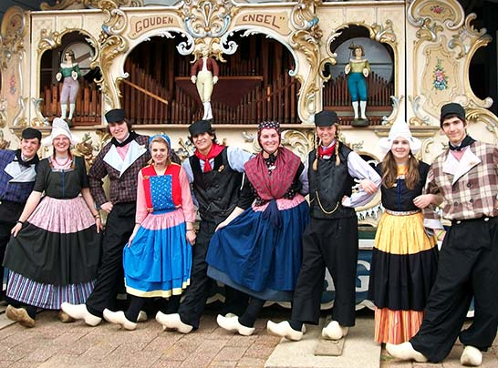 Dutch Dancers at Nelis Dutch Village
