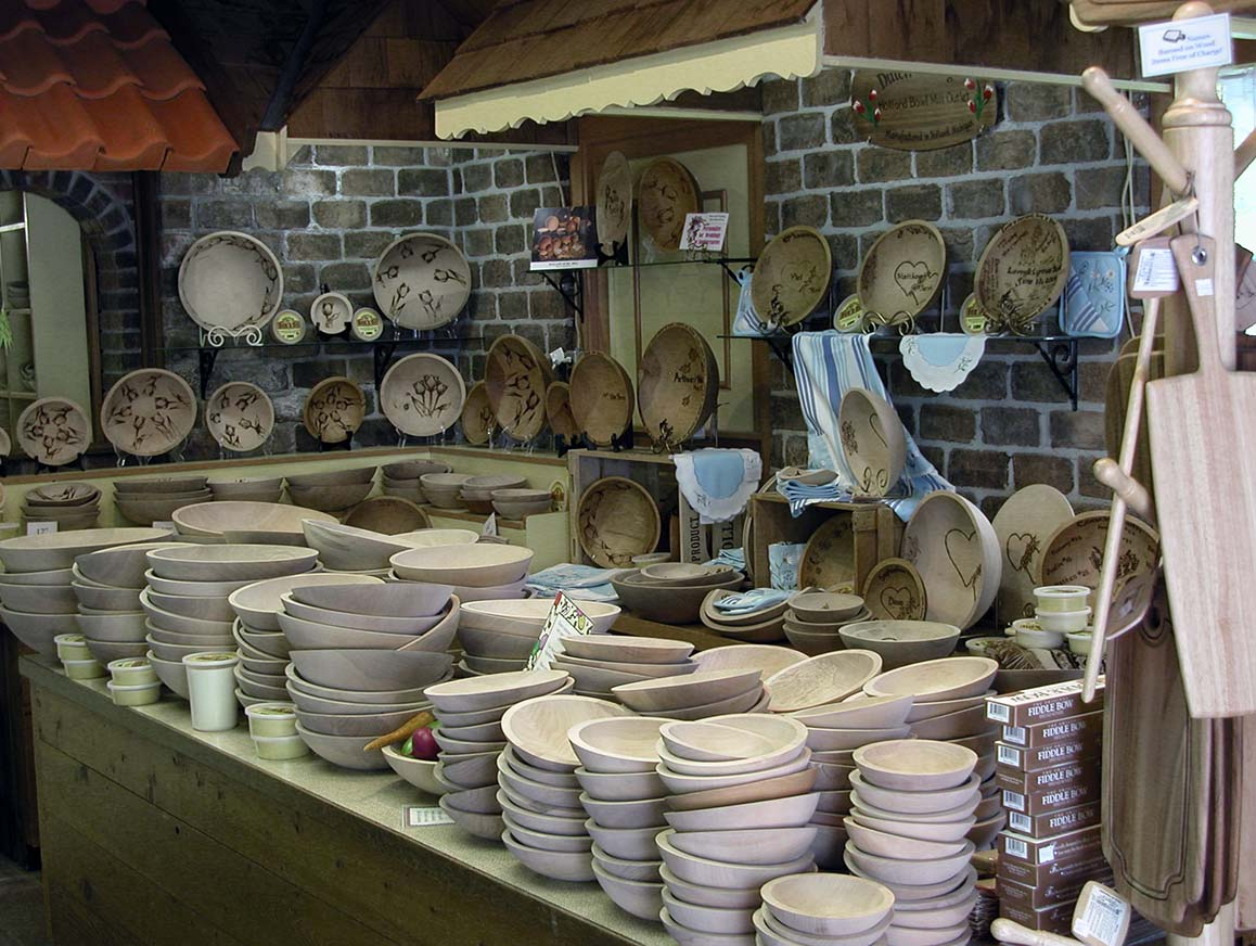 Dutch Village Wooden Bowls Holland Michigan