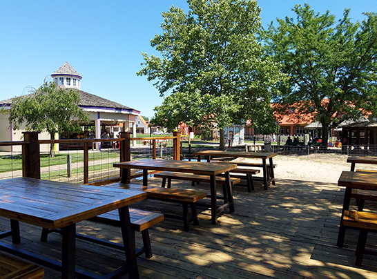Dutch Village new corporate event patio