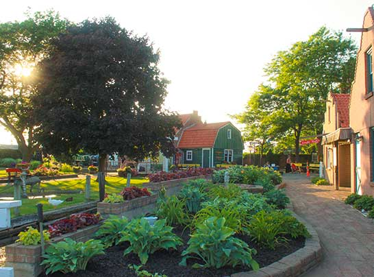 Things to do in Holland, Michigan - Dutch Village walkway