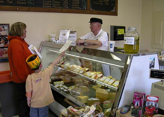 The Cheese Shop at Nelis Dutch Village