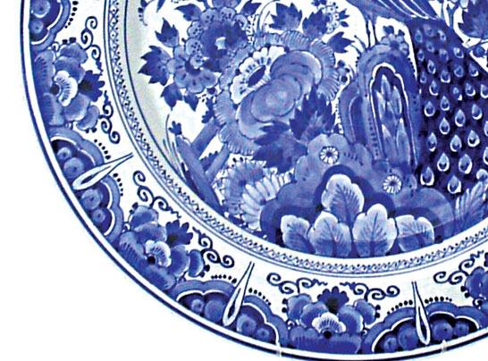 Dutch Village Holland Michigan Custom Delftware