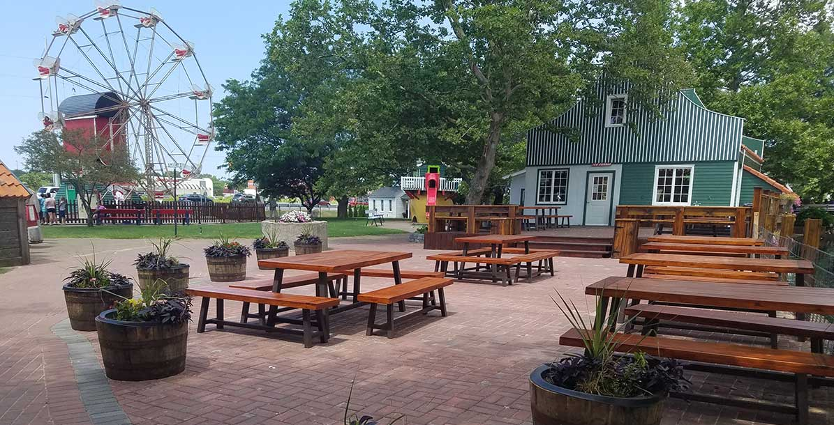 Het Terras Group Event Space at Nelis Dutch Village